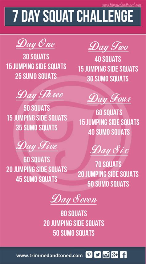 ultimate  day squat challenge weight loss workout