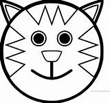 Face Smiley Coloring Cartoon Pages Cat Happy Printable Slime Sad Getcolorings Wecoloringpage Within Sheets Sheet Colorings Dog sketch template