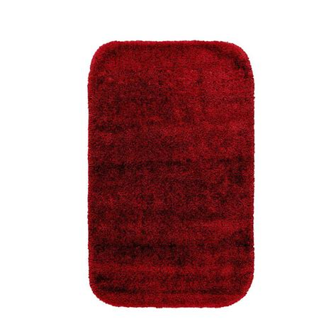 garland rug traditional chili pepper red      washable bathroom accent rug dec