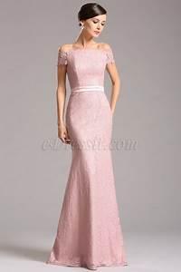 Robe Rose Pale Demoiselle D Honneur : robe demoiselle d 39 honneur rose dentelle col bateau 07153246 ~ Preciouscoupons.com Idées de Décoration