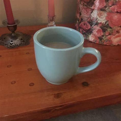 Zojirushi's travel mug won't leak or spill a drop and it keeps your coffee piping hot. Not my fanciest mug but I got this baby for $1.50 at the thrift store the other day. Its pretty ...
