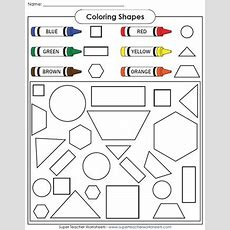 Help Teach Your Students About Basic Shapes With These Basic Shape Printables! Kindergarten