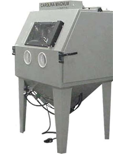 Media Blast Cabinet Dust Collector by Magnum 4436 Suction Blast Cabinets Blasting Cabinets