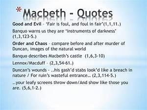 PPT - Macbeth -... Macbeth Scene Quotes