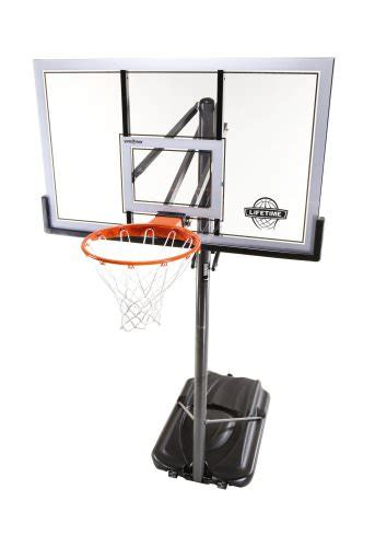 lifetime  portable basketball hoop review