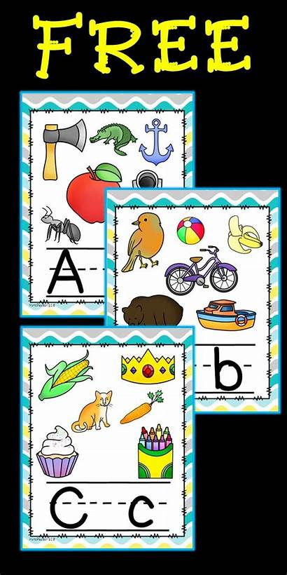 Alphabet Poster Posters Preschool Letters Lower Activities
