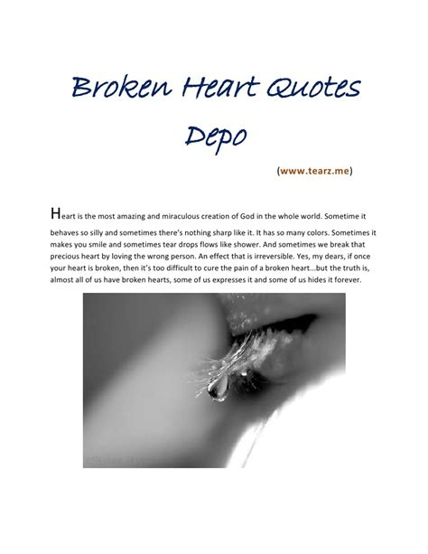 broken heart quotes quotesgram