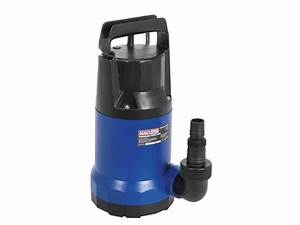 Sealey Wpc235 230v Submersible Water Pump 208ltr  Min