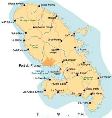 Localisation Martinique Carte Monde by Cartes De La Martinique Album Photos Vents D Home