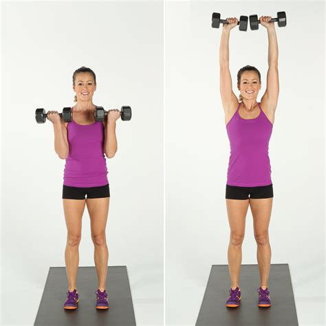 arm exercises  dumbbells   good toned arms