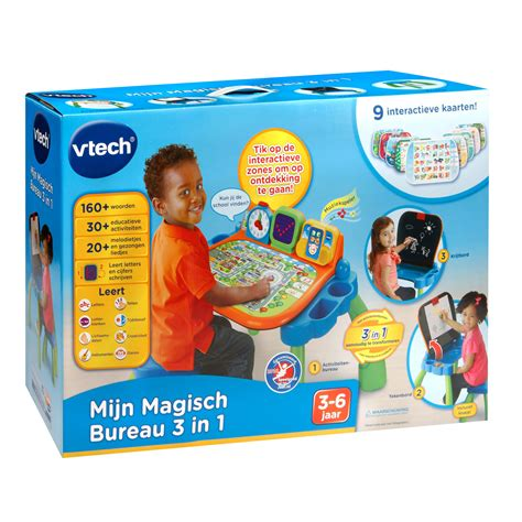 vtech my magical desk 3 in 1 thimble toys