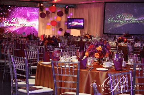 corporate wedding decor toronto rachel  clingen