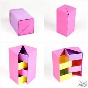 Origami Für Anfänger : origami secret stepper box tutorial blumen basteln aus ~ A.2002-acura-tl-radio.info Haus und Dekorationen