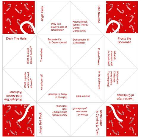 Cootie Catcher Template Zakka Free Printable Cootie Catcher