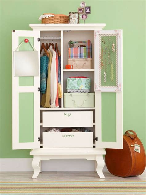storage solutions for small bedrooms flea market wardrobe