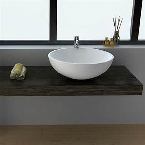 Vasque Ronde A Poser 30 Cm : d couvrez notre nouvelle vasque ronde 3 dimensions ~ Premium-room.com Idées de Décoration