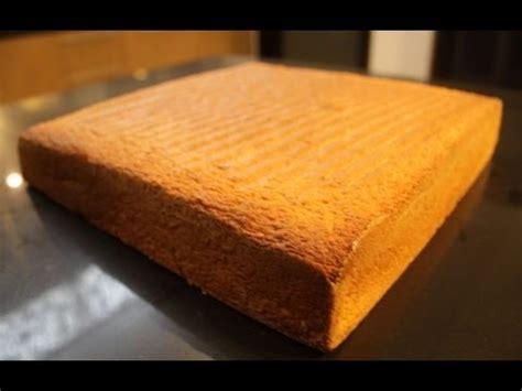 recette du biscuit genoise inratable en  mins youtube