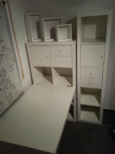 Kallax Ikea Schreibtisch by Ikea Kallax Schreibtisch Aufbewahrungssystem Kombi In