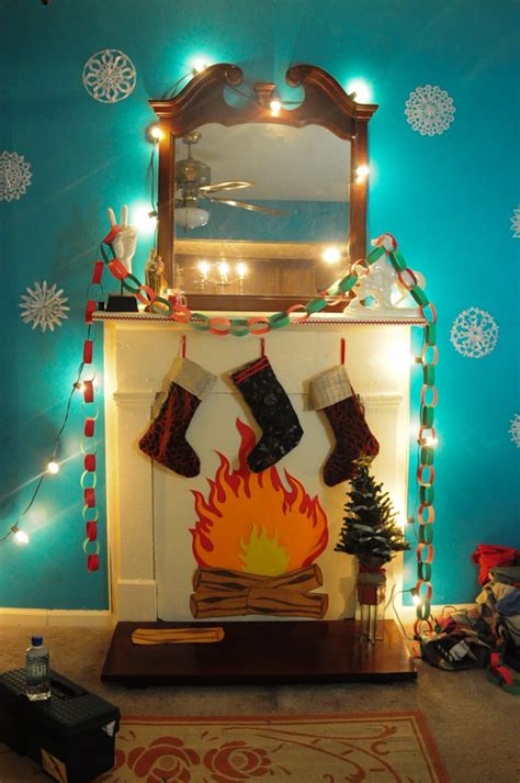 tutorials    cardboard fireplace guide patterns