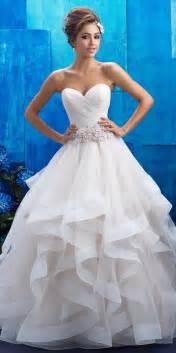 ruffle bridesmaid dress best 25 ruffle wedding dresses ideas on