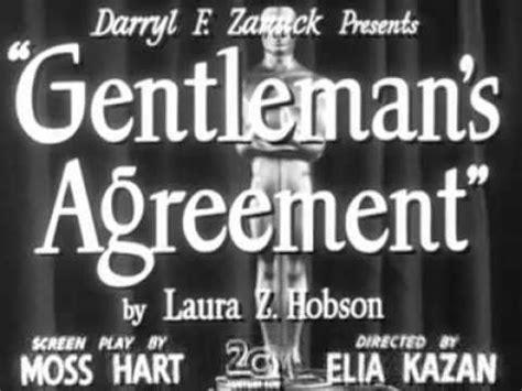 gentlemans agreement  trailer youtube