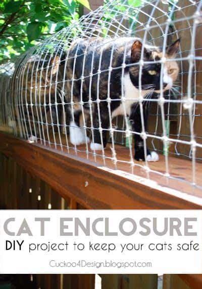 diy cat enclosure diy cozy home