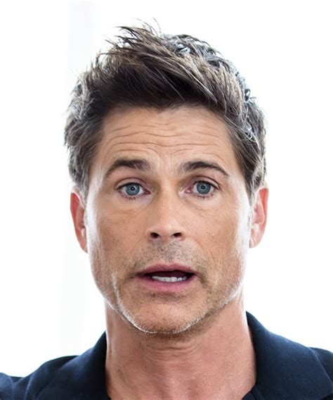 rob lowe short straight formal hairstyle  razor cut