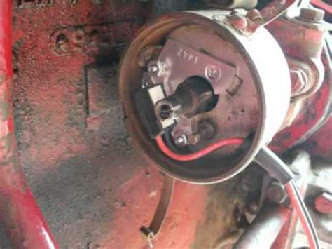install electronic ignition  adjust timing