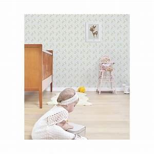 affiche chambre d39enfant faon et fleurs lilipinso With affiche chambre bébé avec robe vintage fleur