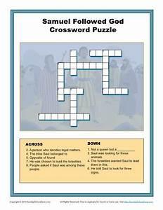 samuel followed god crossword puzzle children 39 s bible