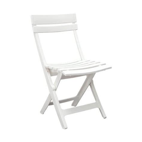 grosfillex miami blanca folding resin chair