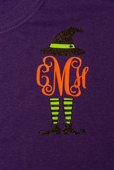 monogram sassy witch  shirt perfect  fall  halloween