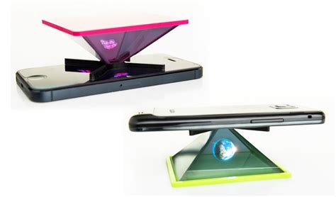diy  holograms   smartphone  piece   mind