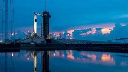 Spacex Nasa Launch Crew Starship Dragon Space