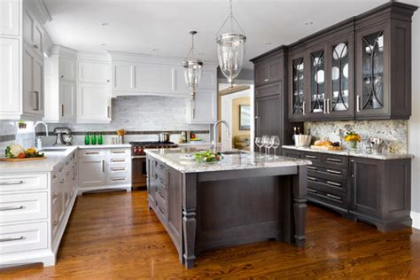 designing a kitchen two toned kitchen em or em 6658