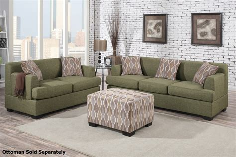 sofa loveseat set green fabric sofa and loveseat set a sofa