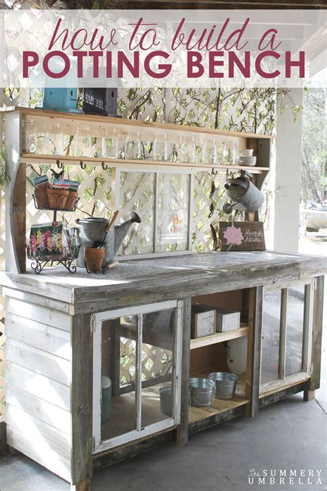 how to build a potting bench the scoop link 221 worthing court