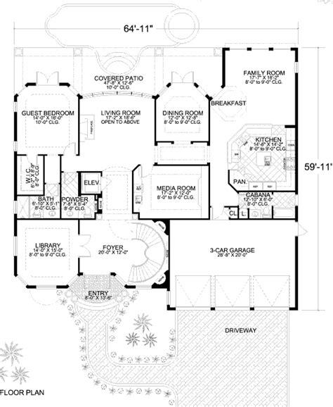 Home layout with master upstairs nice flow Barndominium
