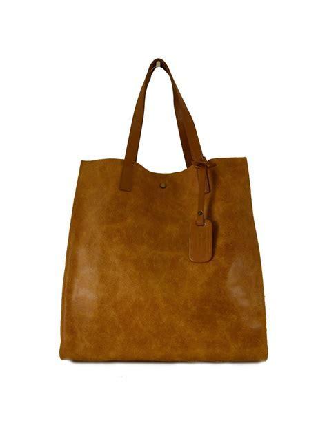 Leder Shopper Tasche für Damen   Greta