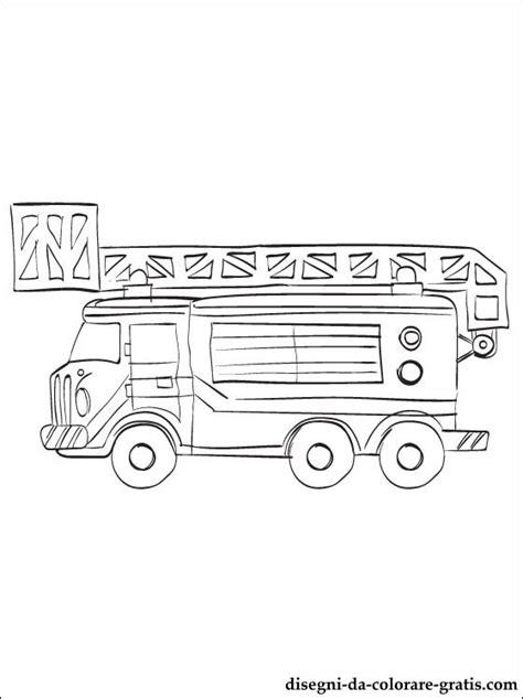 disegno camion dei pompieri da stampare disegni da