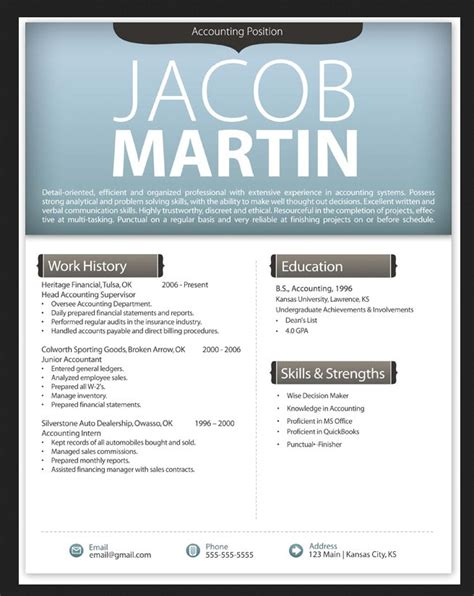 Chronological Resume Cv Modern Design by Modern Resume Template 2016 Resumes Design