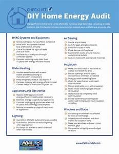Checklist  Diy Home Energy Audit