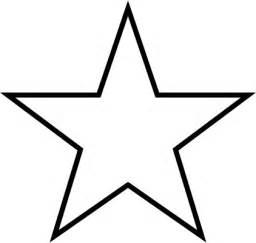 5 Point Star Clip Art