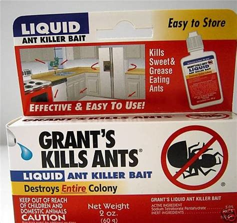 best ant bait grease ant bait killer trap removal destroys entire colony