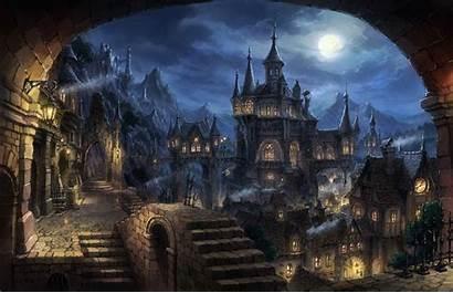 Halloween Wallpapers Town