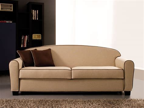 Double Sofa Bed, Removable Fabric, Spring Mattress