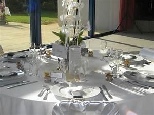Dcoration De Table Pour Un Mariage Tout En Blanc