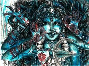 Goddess Kali 2 by MiaLaia on DeviantArt