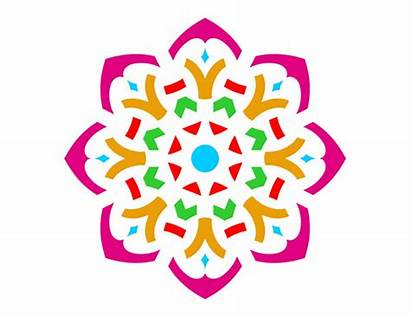 Rangoli Clipart Designs Diwali Flower Clip Simple