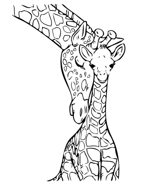 giraffe coloring pages giraffe coloring pages printable printable kids colouring pages